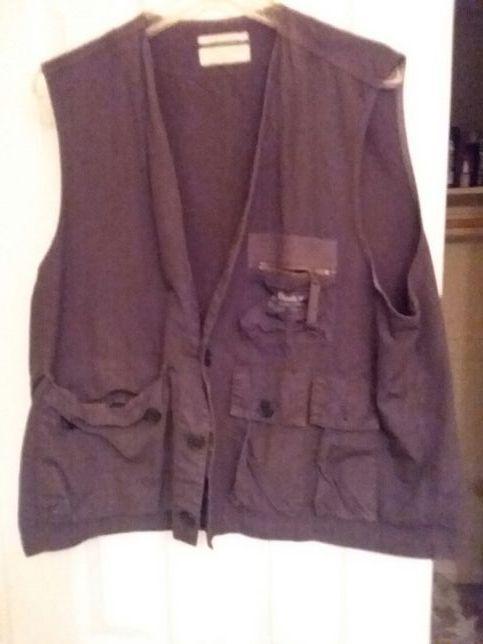 Blue photo fishing vest