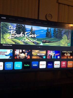 "50""Vizio 4K Smart Tv Lots of app/Netflix & Hulu & much more. for Sale in Clearwater, FL"