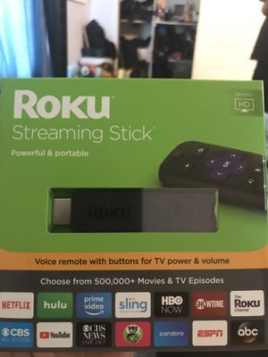 Roku stream stick for Sale in Los Angeles, CA