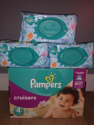 Pampers cruisers size #4!! for Sale in Jonesboro, GA