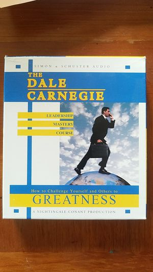 The Dale Carnegie Leadership Mastery Course: How To Challenge Yourself and Others To GreatnessCD, Abridged, Audiobook for Sale in Las Vegas, NV