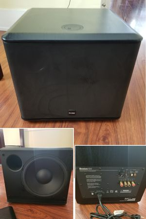 Boston Acoustic powered subwoofer speaker for Sale in Long Beach, CA
