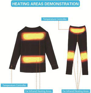 Vivienda Intelligent Heated Underwear for Man/Women, Li-Po Battery Packs 7.4V2200mAh, Dual Li-Po Charger for Sale in Ontario, CA