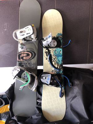 Ride and Burton Snowboards for Sale in Mather, CA