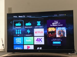 "TCL 55"" CLASS C8-SERIES 4K UHD DOLBY VISION HDR ROKU SMART TV - 55C803 for Sale in Centerville, OH"