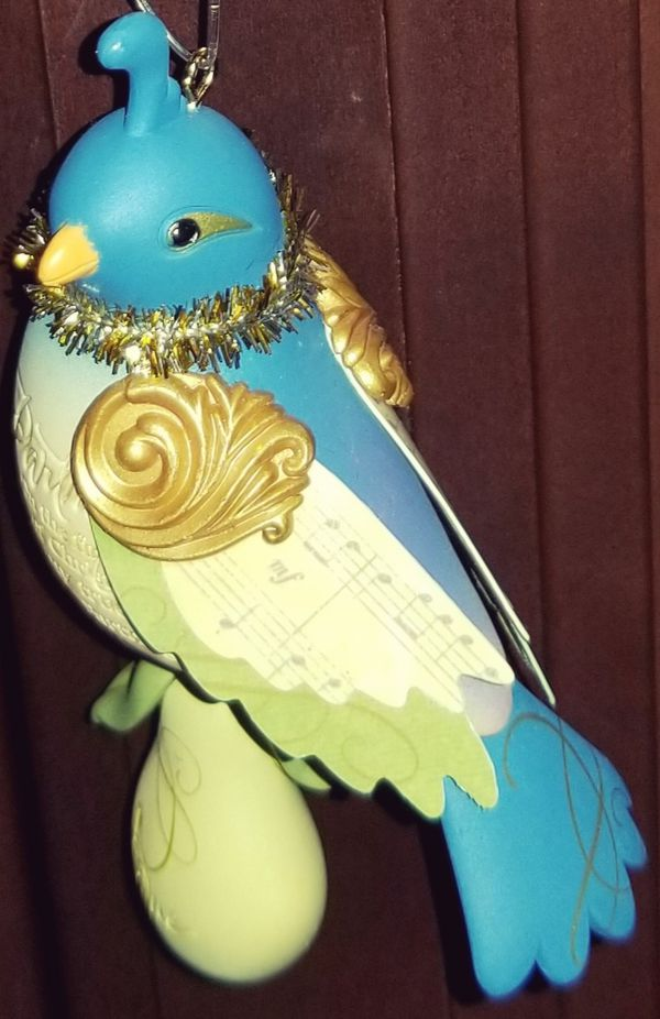 Partridge in a Pear Tree Hallmark Keepsake Christmas Tree Holiday Ornament 2011