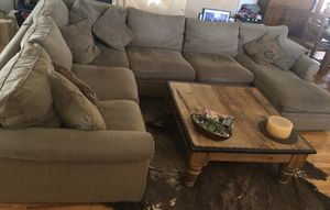 Crate & Barrel Huntley Sectional for Sale in Denver, CO