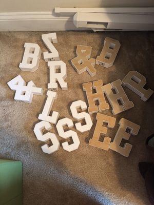 Letters for Sale in Manassas, VA
