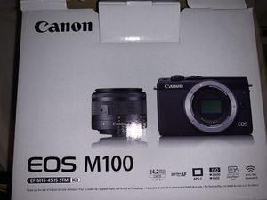 Canon EOS M100 Camera for Sale in Las Vegas, NV