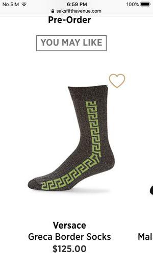 Versace Greca Socks for Sale in Loganville, GA