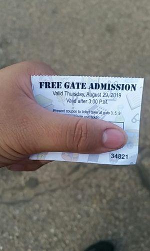 State Fair ticket for Sale in Pueblo, CO