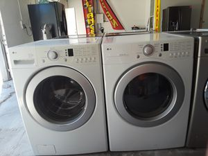 LG Washer And Electric Dryer for Sale in Austin, TX