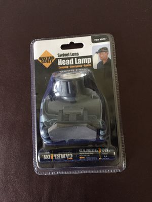 Western Safety Swivel Lens Head Lamp - 45807 for Sale in Columbia, MO