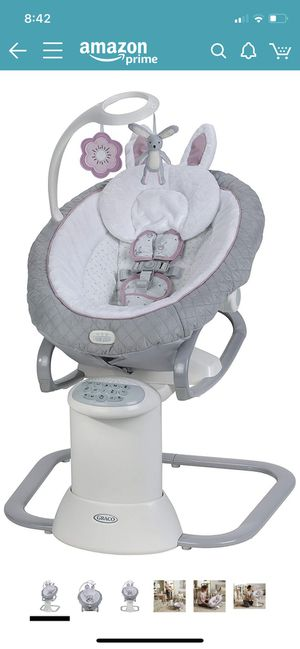 Graco EveryWay Soother Baby Swing with Removable Rocker, Josephine for Sale in Washington, DC