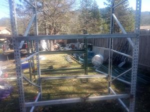 Heavy Duty totally adjusting metal rack for Sale in Trail, OR