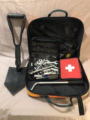 In like new condition new and used road side emergency kit. for Sale in Vacaville, CA