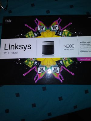 Linksys wifi router for Sale in Hartford, CT