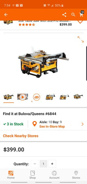 Table saw for Sale in Queens, NY