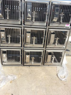 Stainless pet cage for Sale in Houston, TX