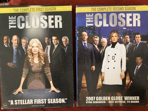 The Closer - 1st and 2nd season DVDs for Sale in Rustburg, VA