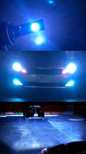 Super bright LED CSp light blue 8000k h8/h9/h11 9005 9006 9145 hb3 hb4 for Sale in Los Angeles, CA
