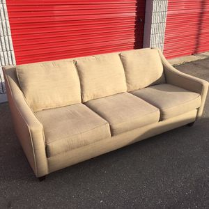 Art Van Contemporary 3 Seater Sofa for Sale in Bloomfield Hills, MI