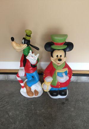 Disney Mickey Mouse & Goofy Christmas for Sale in Murfreesboro, TN