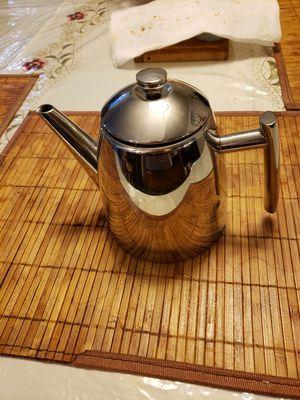 Tea pot 18/10 stianless steel 0.34 oz. for Sale in Alexandria, VA