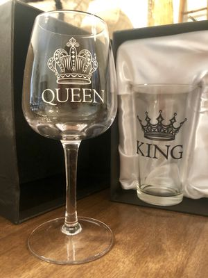 King and Queen Glassware for Sale in Tampa, FL