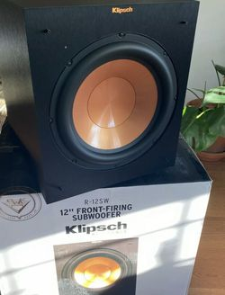 Klipsch R-12SW 🔥 12-Inch Front Firing 400-Watt Max Powered Subwoofer for Sale in Quakertown,  PA