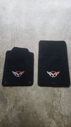 c5 corvette embroidered floor mats for Sale in Germantown, MD