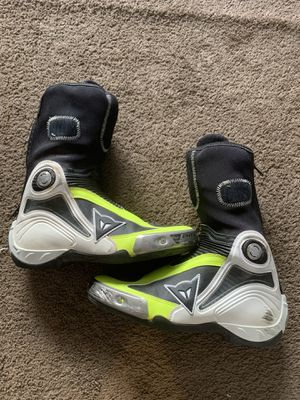 Motorcycle Dainese Axial Pro In Boots US 8.5 EURO 41 for Sale in Burbank, CA