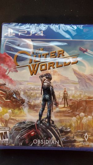 *New* The Outer Worlds - PS4 for Sale in Phoenix, AZ