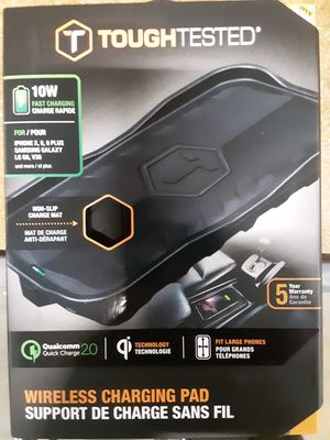 NEW!! Wireless charging pad QC2 & Qi for Sale in East York, PA