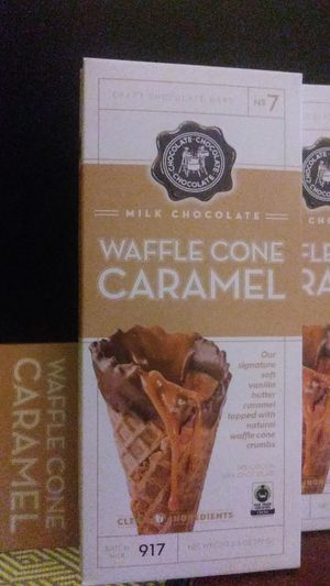 WAFFLE CONE CARAMEL MILK CHOCOLATE for Sale in Takoma Park, MD