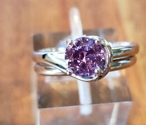 Natural Pink Sapphire Set for Sale in Leavenworth, WA