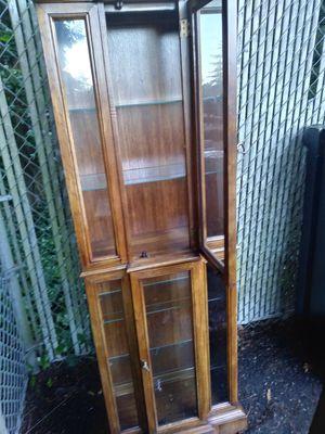Antique china hutch for Sale in Everett, WA