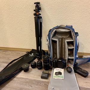 Canon EOS 20D w/ accessories for Sale in Olympia, WA