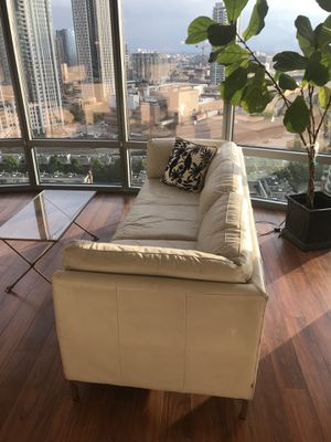Leather Couch and Chair for Sale in Chicago, IL