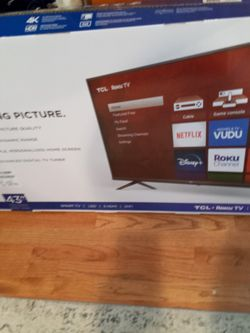 43in TV Tcl for Sale in Atlanta,  GA