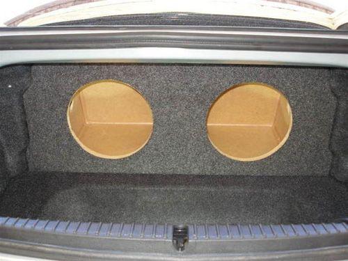 Mazda rx8 Custom dual 12inch subwoofer box