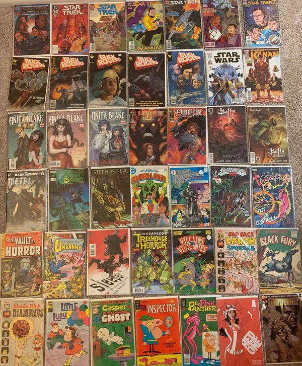 Collection of 216 Comic Books- Most in Mint Condition