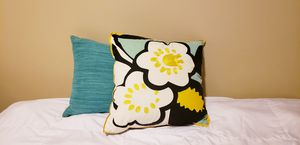 Throw pillows both for $5 for Sale in Olympia, WA