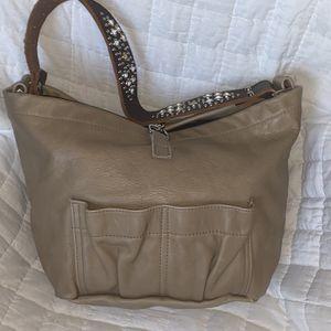Tylie Malibu Tan Leather Hobo Bag Purse for Sale in Largo, FL