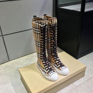 BURBERRY LADIES knee high sneakers for Sale in Merrillville, IN