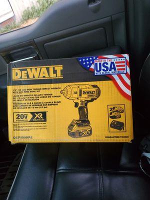 "Dewalt 20v XR Brushless 1/2"" HIGH TORQUE IMPACT WRENCH w/HOG RING ANVIL KIT for Sale in Riverview, FL"