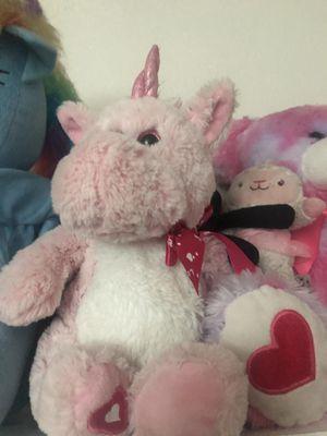Pink unicorn plushie for Sale in Phoenix, AZ