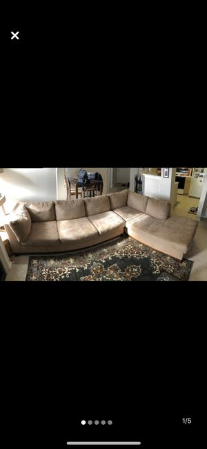 Microfiber sectional for Sale in Westminster, CO
