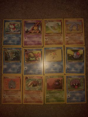1999 Pokemon Base set cards (lot 2) for Sale in Puyallup, WA