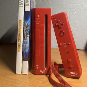 Wii Red Edition for Sale in Stockton, CA